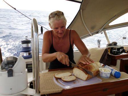 .... wir backen frisches Brot ....