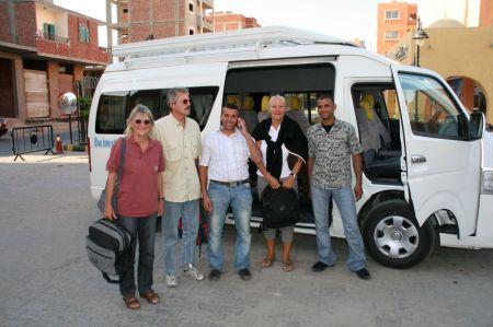 Ausflug nach Luxor.