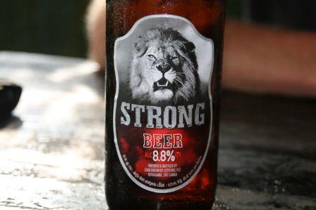 .... STrong Bierchen mit 8,5 % Alkohol.