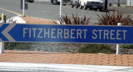 Hokitika, dort hat wohl auch ein Deutscher bei der Namensgebung für Straßen mitgewirkt