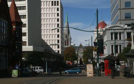 Christchurch, so modern haben wie die Stadt nicht erwartet .