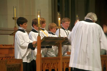 Kabenchor in der Cathedrale