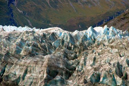 Eisformation auf dem Fox Gletscher