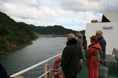 Picton in Sicht