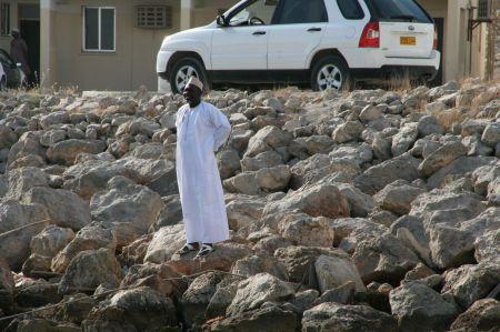 Im Hafen werden wir von unserem Agenten, Mohammed, bereits erwartet.