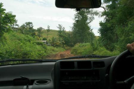 Auf dem Weg zur Palmlea Farm