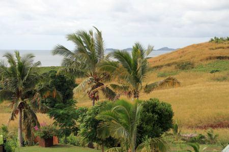 Dieses wunderbare Stuecken Land direkt am Pazifik haben sich Sue und  ...... aus gekauft und betreiben hier die Palmela Farm.
