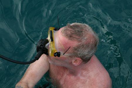 Und dann zurück aufs Boot. Dort testet Jaap .....