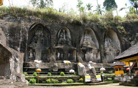 Königsgräber von Gunung Kawi.