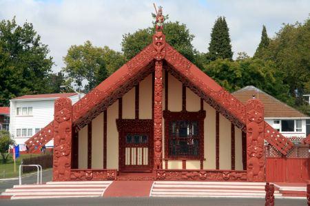 Maori Gebäude