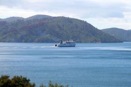Fähre nach Wellington.