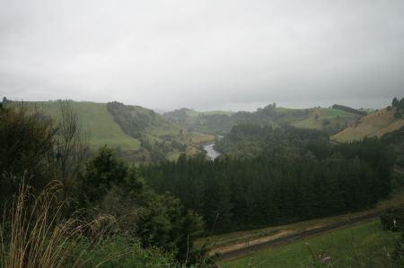 Berge - Flüsse