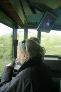 In der Beobachtungsstation