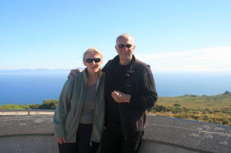 Angekommen am Ende der Welt, unser südlichster Punkt in Neuseeland