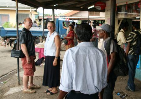 Auf dem Markt in Labasa