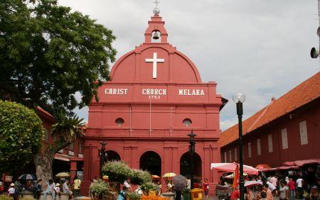 Die Christ Church von Melakka.