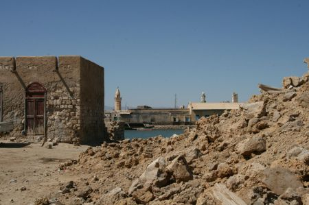 Ruinen, die eine Geschichte erzählen ....