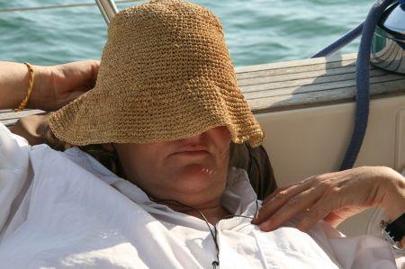 Jeder genießt die Seereise auf seine Weise.