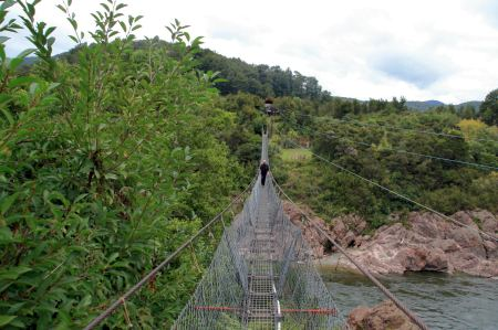 Schwingbrücke für Schwindelfreie