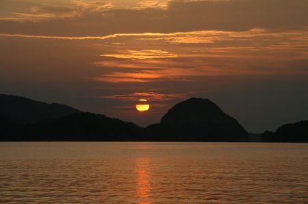 .... Sonnenuntergang.