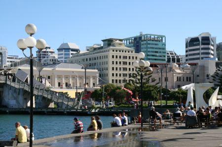 Welligton - die Hauptstadt von Neuseeland