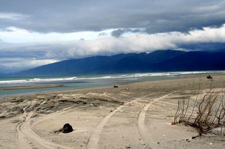Endloser Strand lädt ein