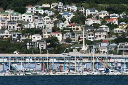 der Yachthafen von Wellington