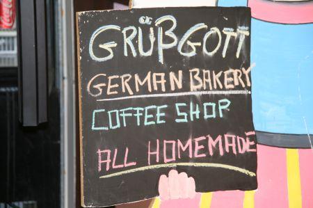 In dem sehr touristisch geprägten Kuranda gibt es natürlich einen deutschen Bäcker.