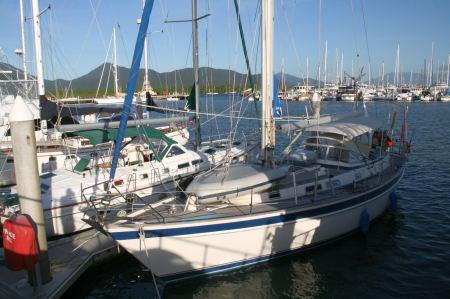 Angekommen im Hafen von Cairns.
